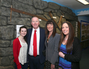 Selina Dever, Terence Dever –CEO of CFÁA along with Mary Dever & Anne Marie Dever enjoying the launch of the Achill Experience. Photo: © Michael Donnelly